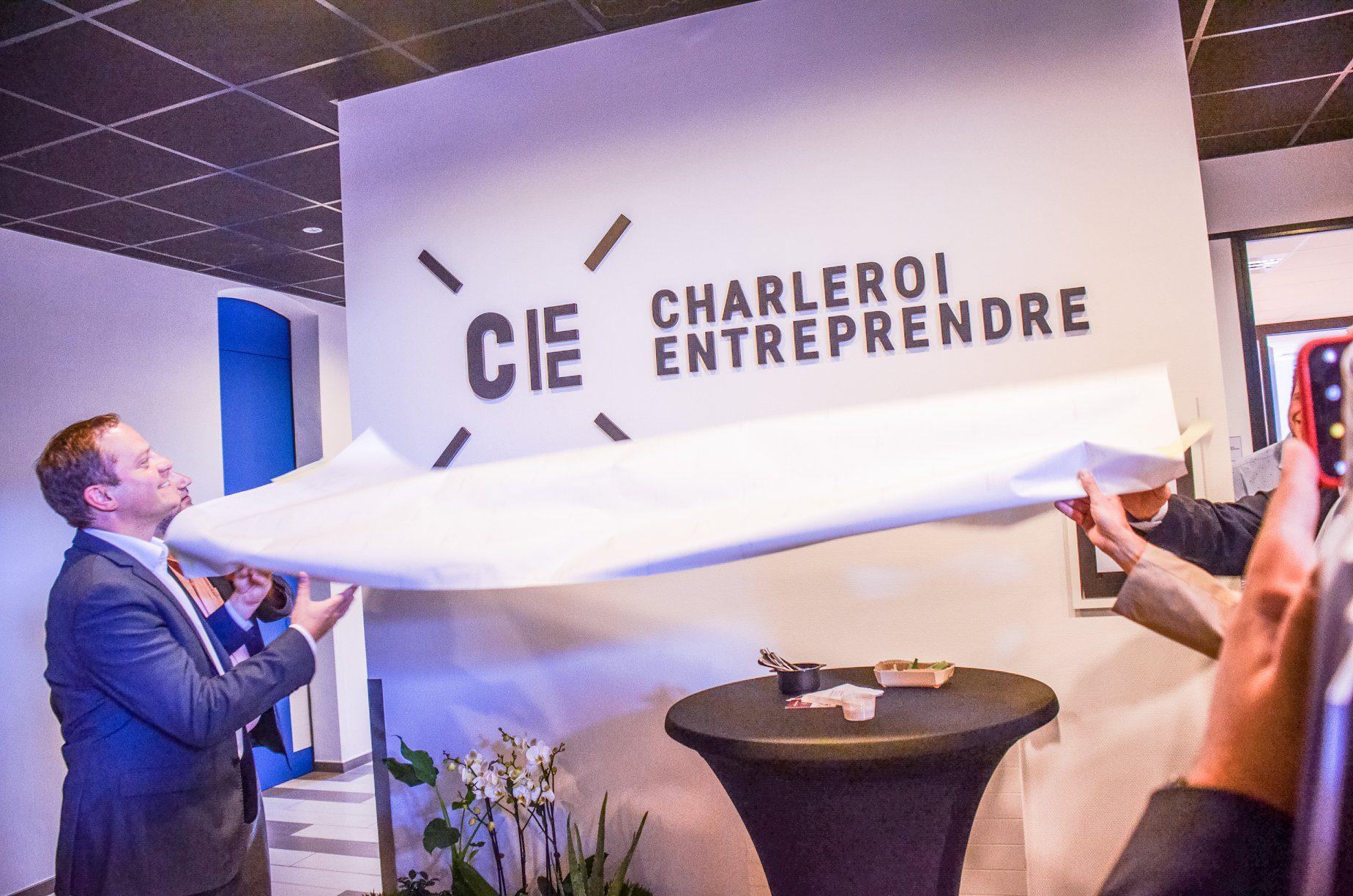 Eric Goffart à Charleroi Entreprendre