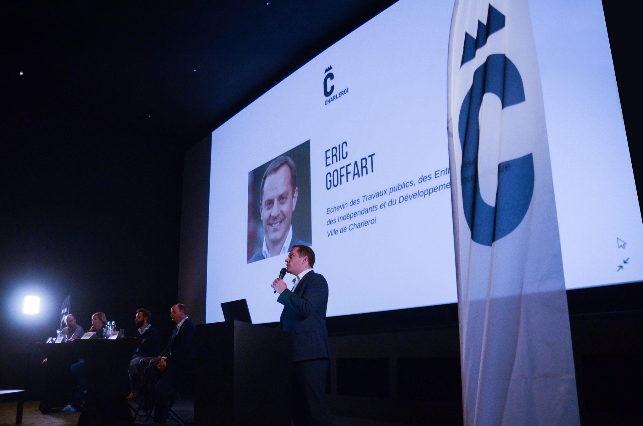Eric Goffart - états généraux de la ville de Charleroi