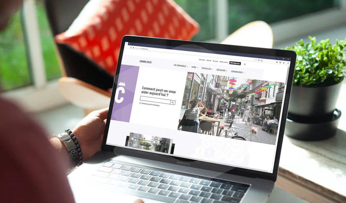 Charleroi | Investissement d'une plateforme en ligne pour faciliter vos démarches administratives