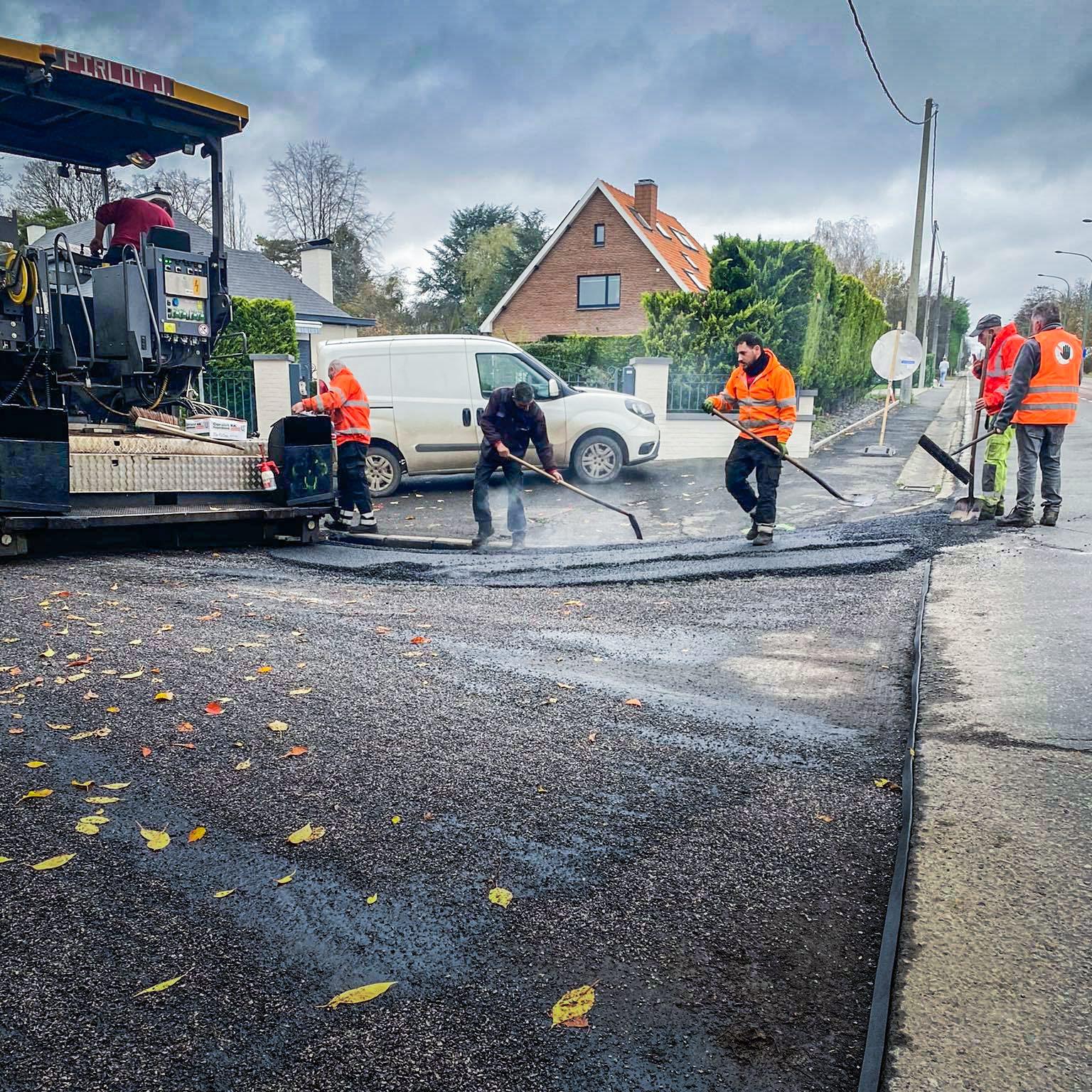 Des investissements de 12.5 M€ pour les routes et les trottoirs